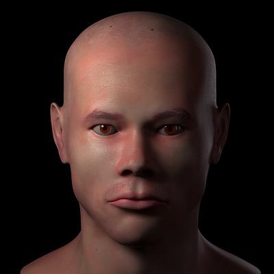 Eusebio hb humano cabeza front