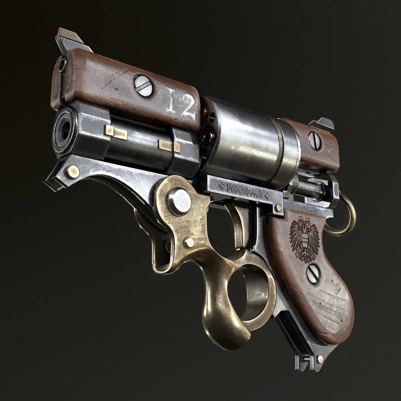 Стимпанк картинки оружие