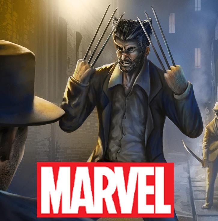 Marvel  x-men Noir, detective wolverine