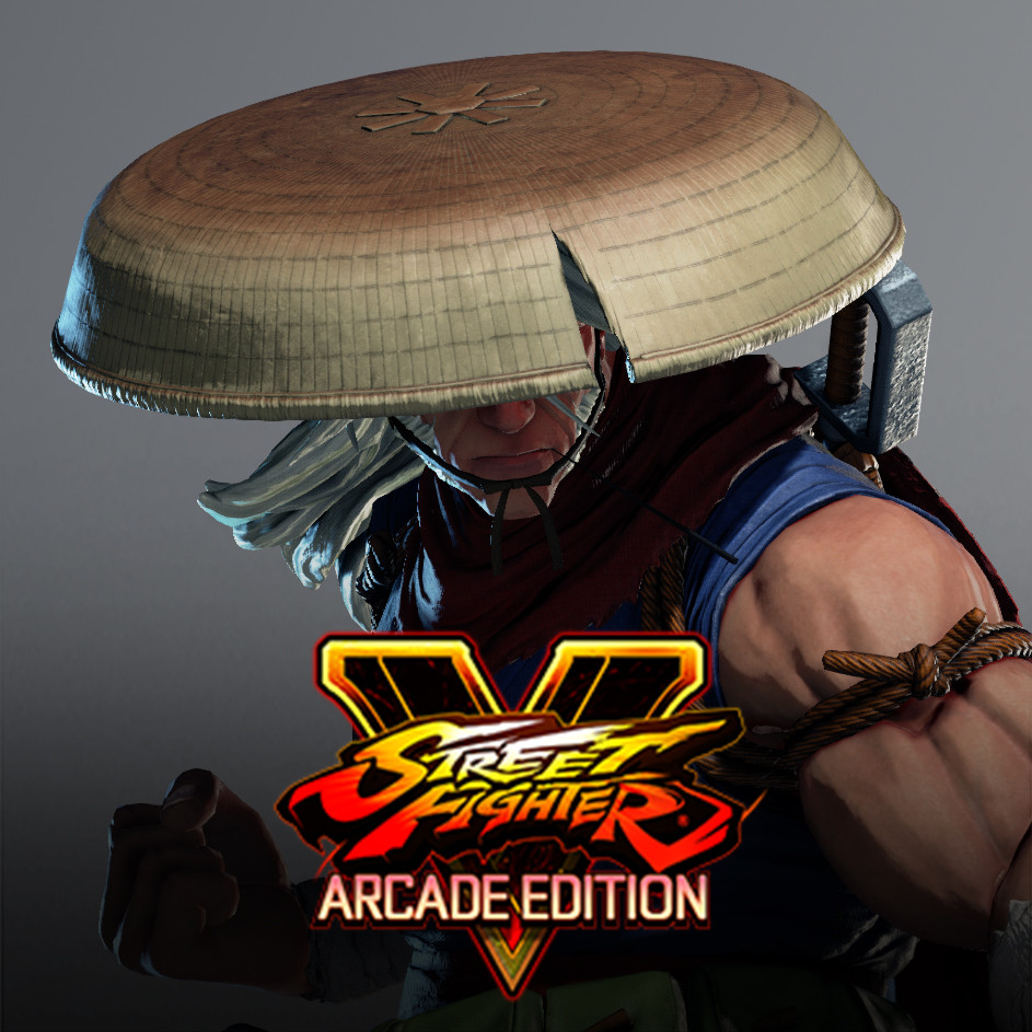 Zeku Fighter Skin - Street Fighter V : Arcade Edition