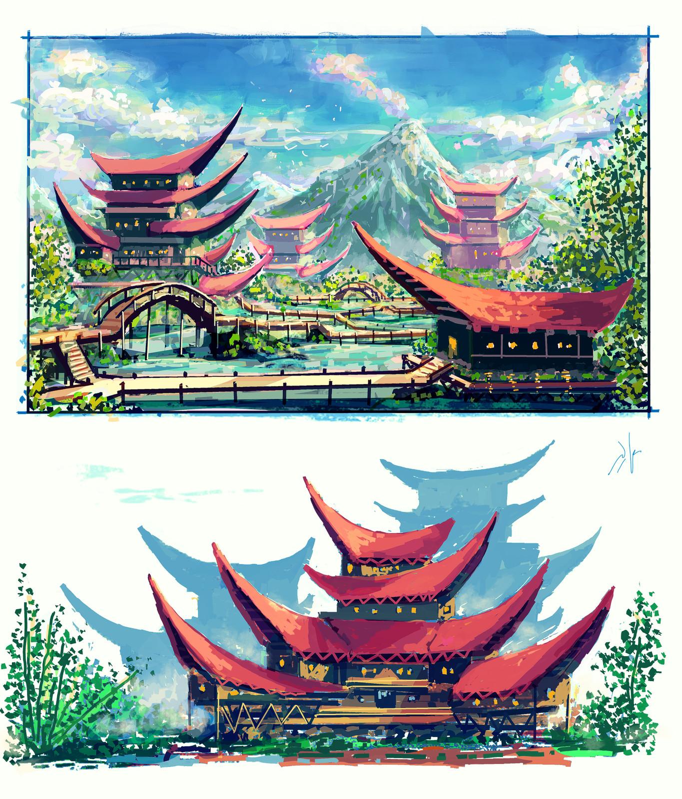 SouthEast Asian design