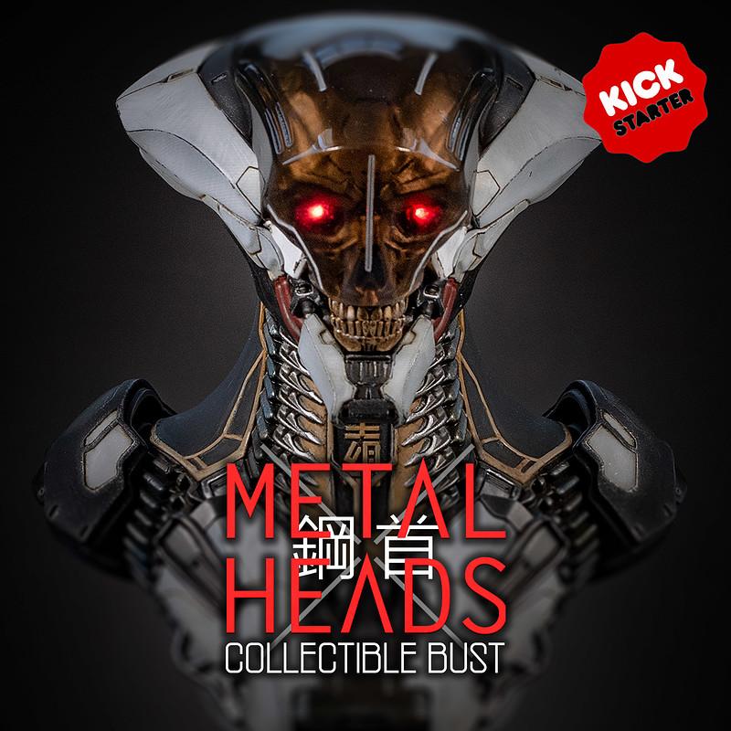 METAL HEAD : Statue Bust Kickstarter Launch