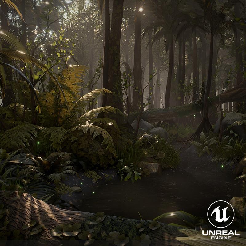 [UE4] Dense Rainforest