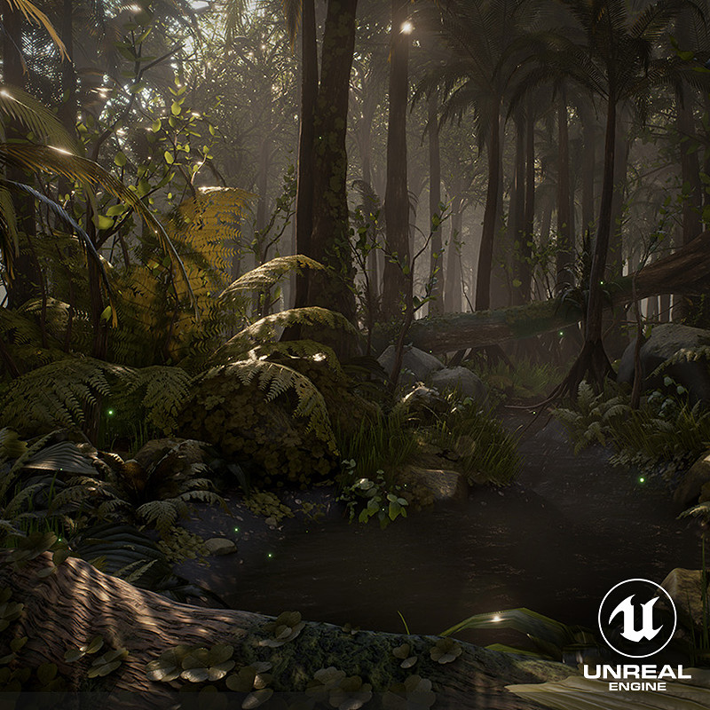 [UE4] Dense Rainforest