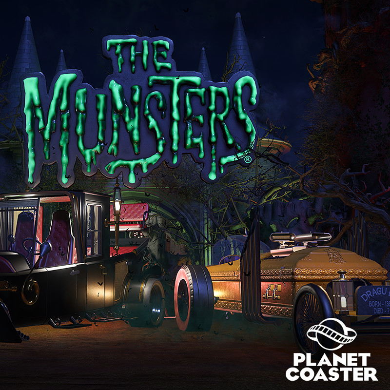 Planet Coaster - Munster DLC Drag-u-la