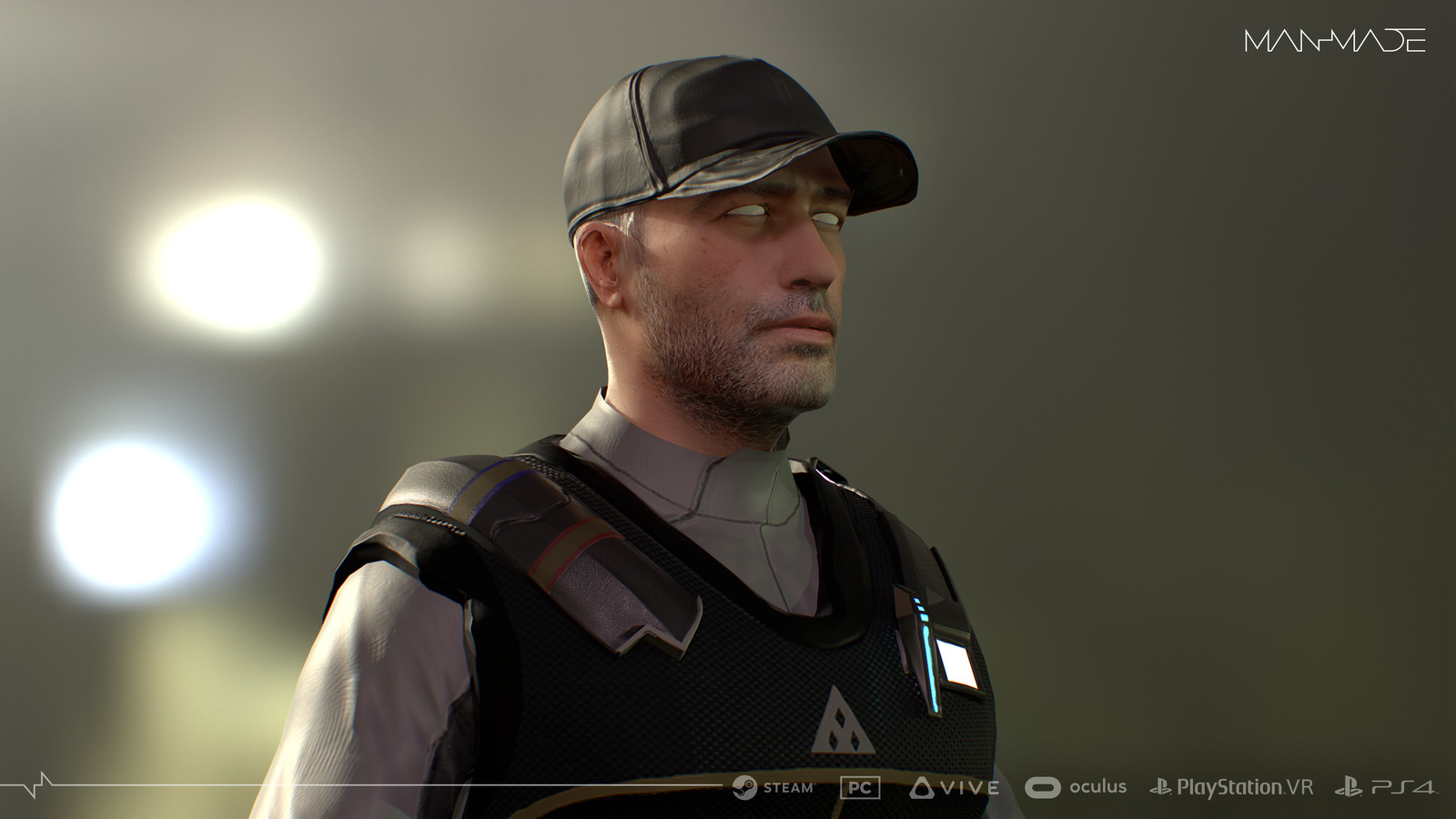Security2 (3d Character Modeling and Texturing for ManMade: SciFi Action Adventure Game)