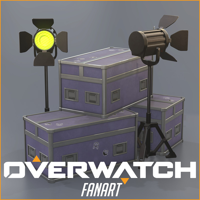 Overwatch Props [Fan Art]