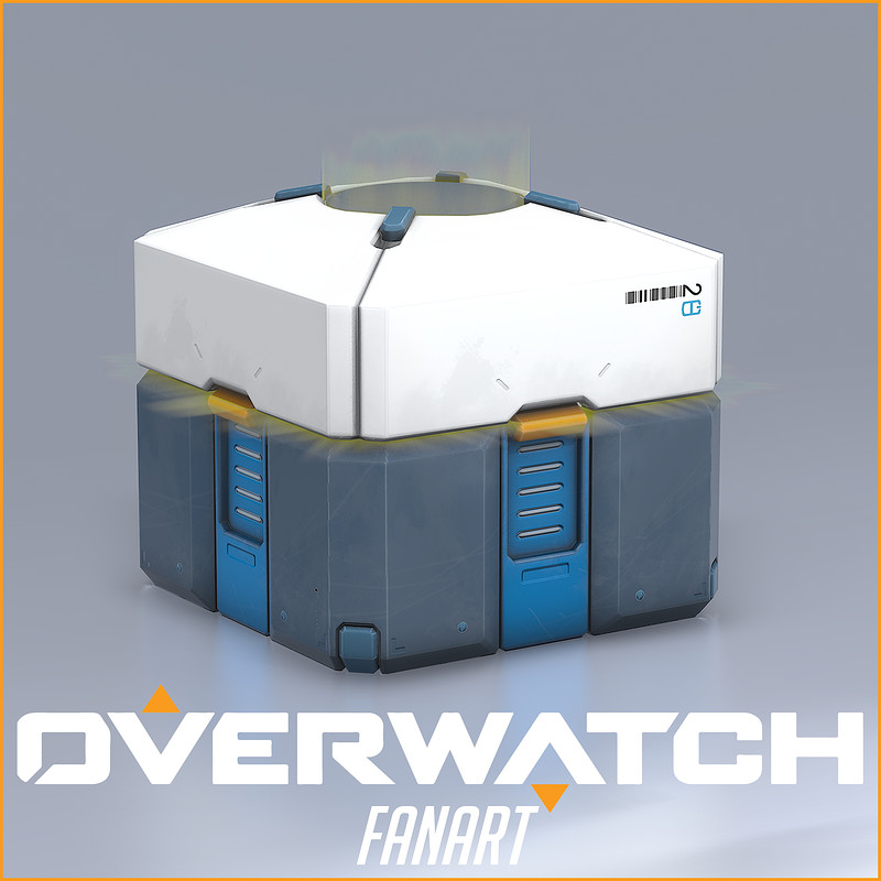Overwatch Lootbox [Fan Art]