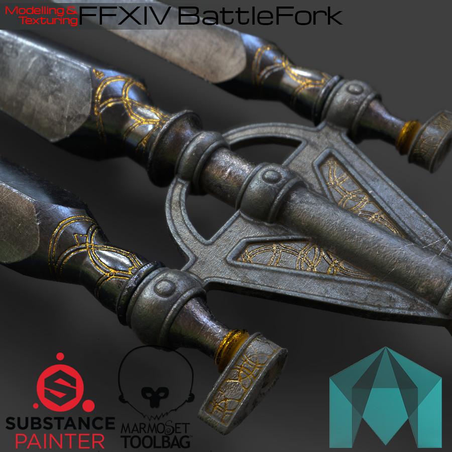 FFXIV BattleFork