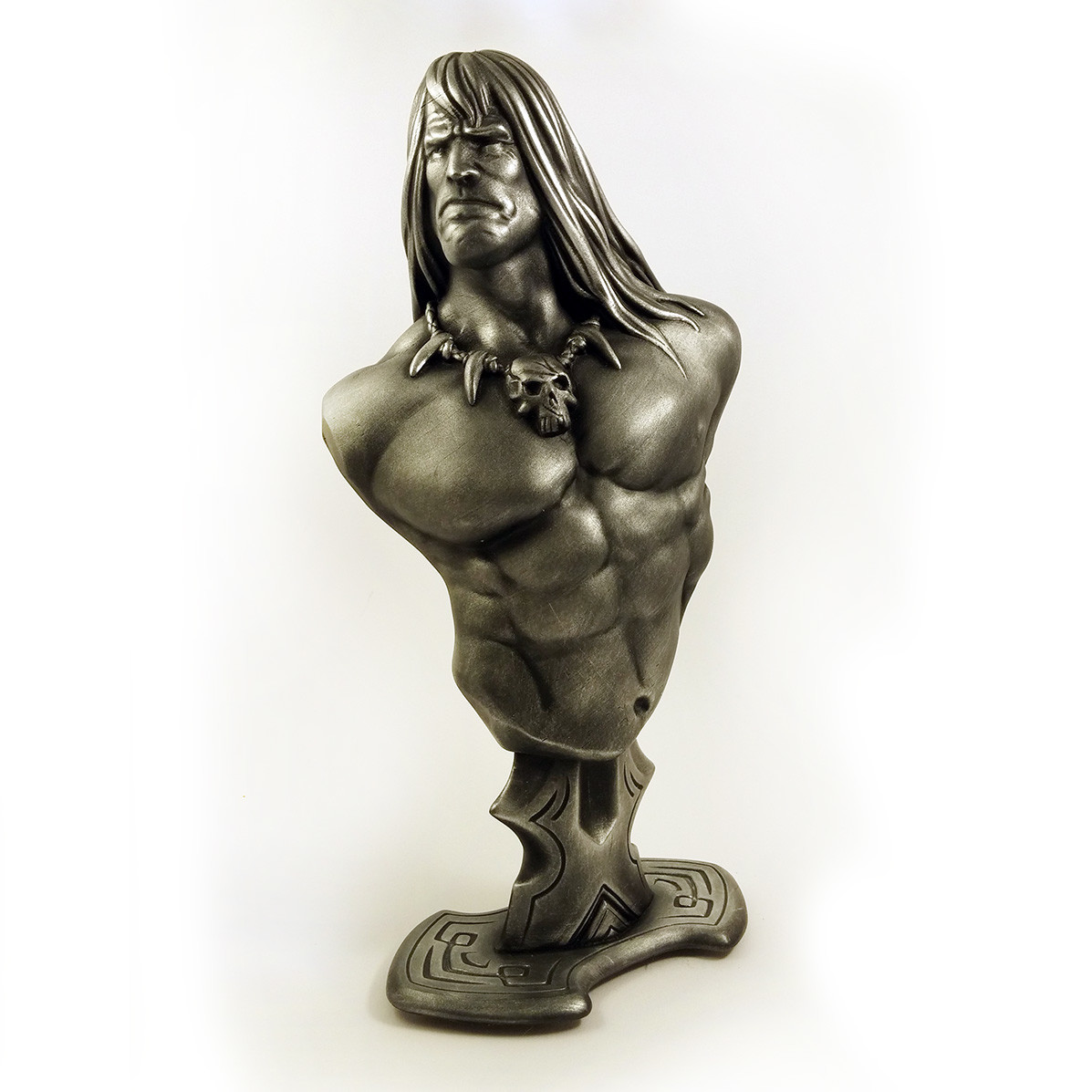 Conan the Barbarian (3D printed bust)