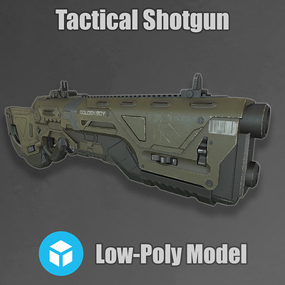 Golden Boy - Tactical Shotgun