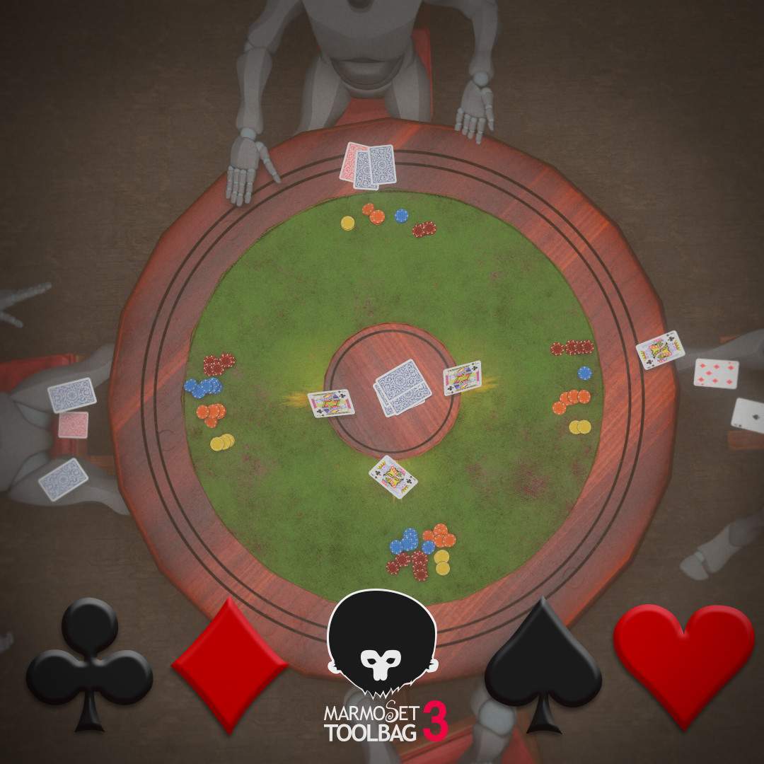Card Table - Wild West Challenge