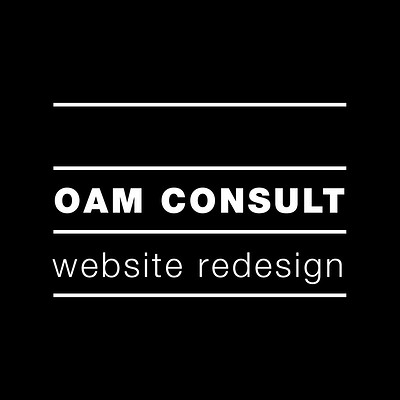 OAM Consult - Website Design and Visuals