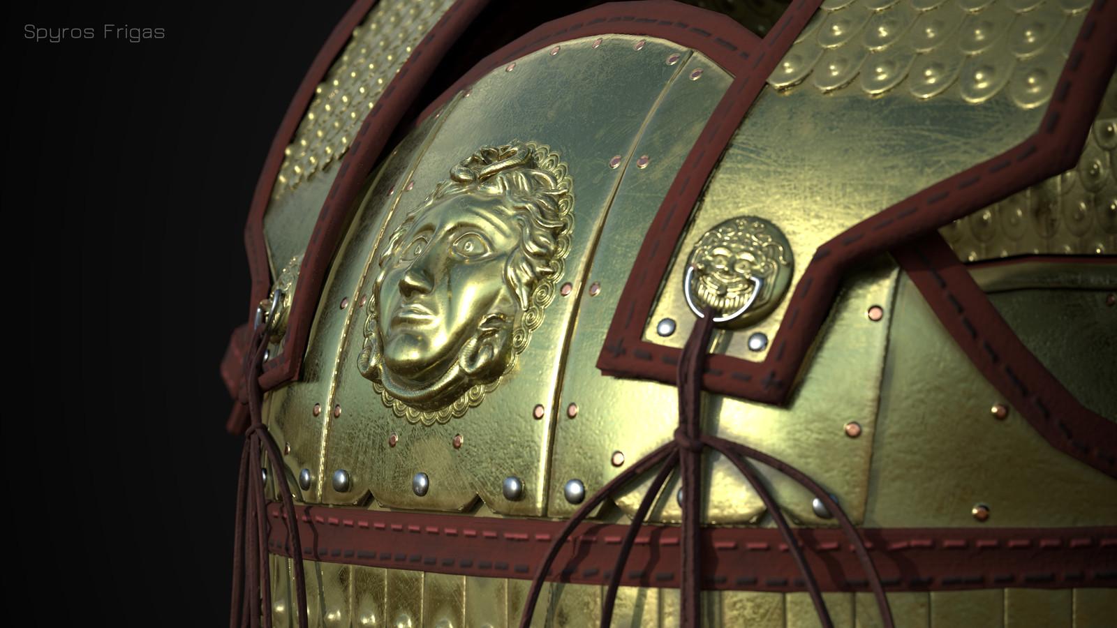 Heavy Linothorax, ancient Greek armor