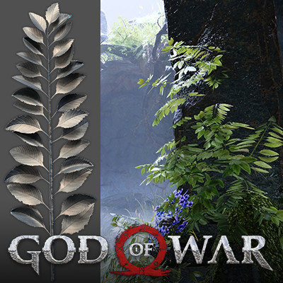 God of War 4 - Waterbush