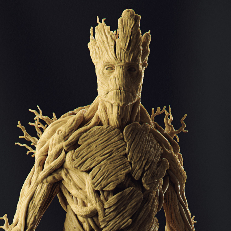 Groot - Art Scale 1/10 - Iron Studios