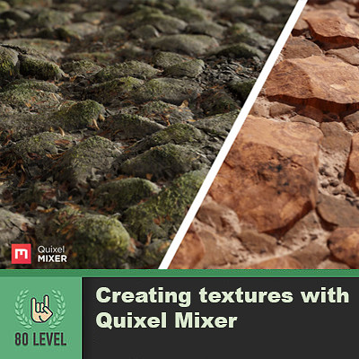 80.lvl Article - Creating textures with Quixel Mixer