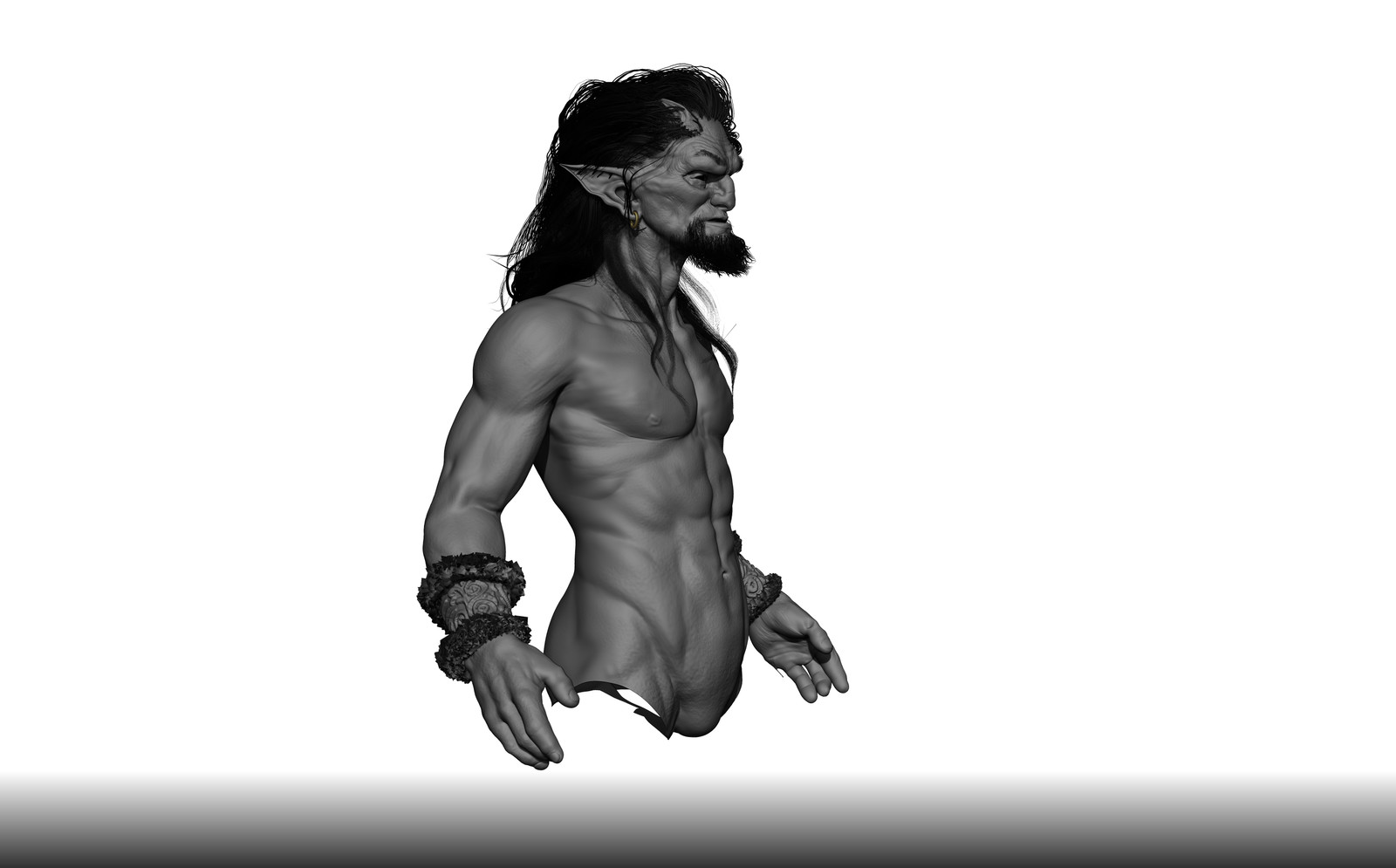 Centaur- skecth based  on the concept art by Rob Bliss