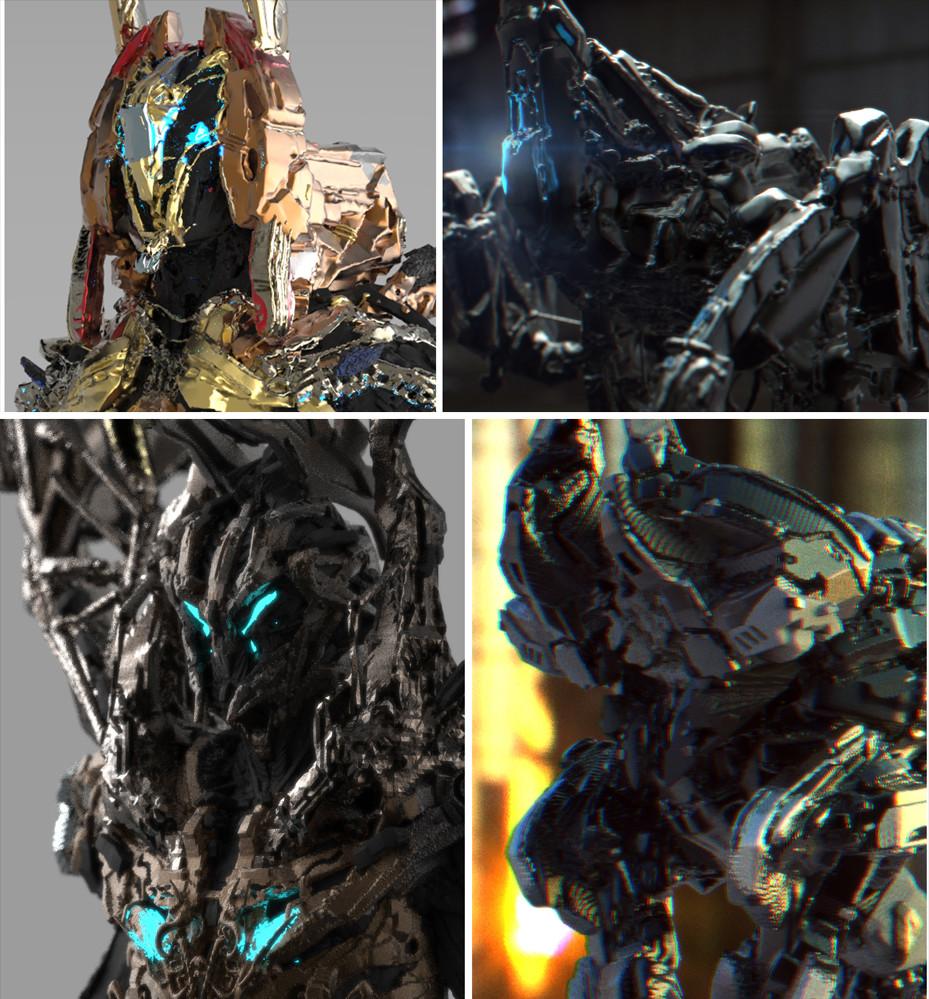 3D Coat Scifi Concept Designs