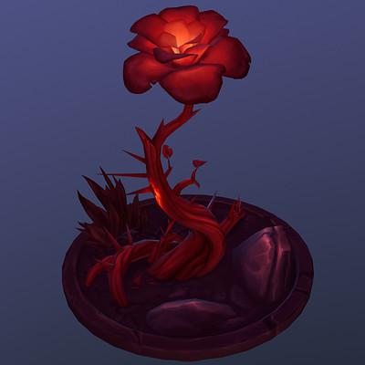 Lisa lenz red flower 2 preview 2