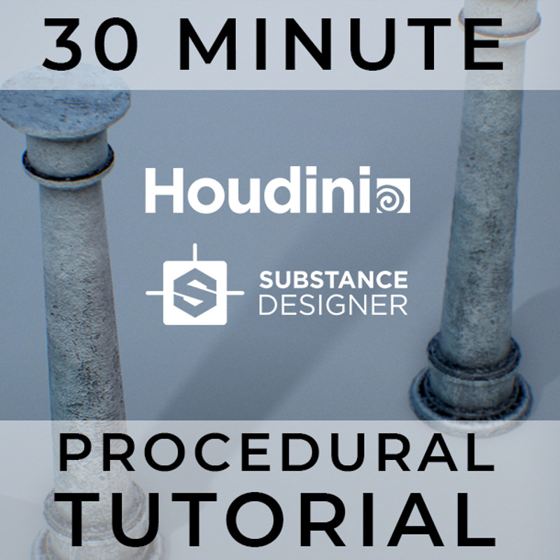 Substance & Houdini Procedural Asset Tutorial