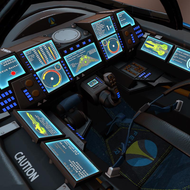 Formula G - FENRIR Viper Cockpit