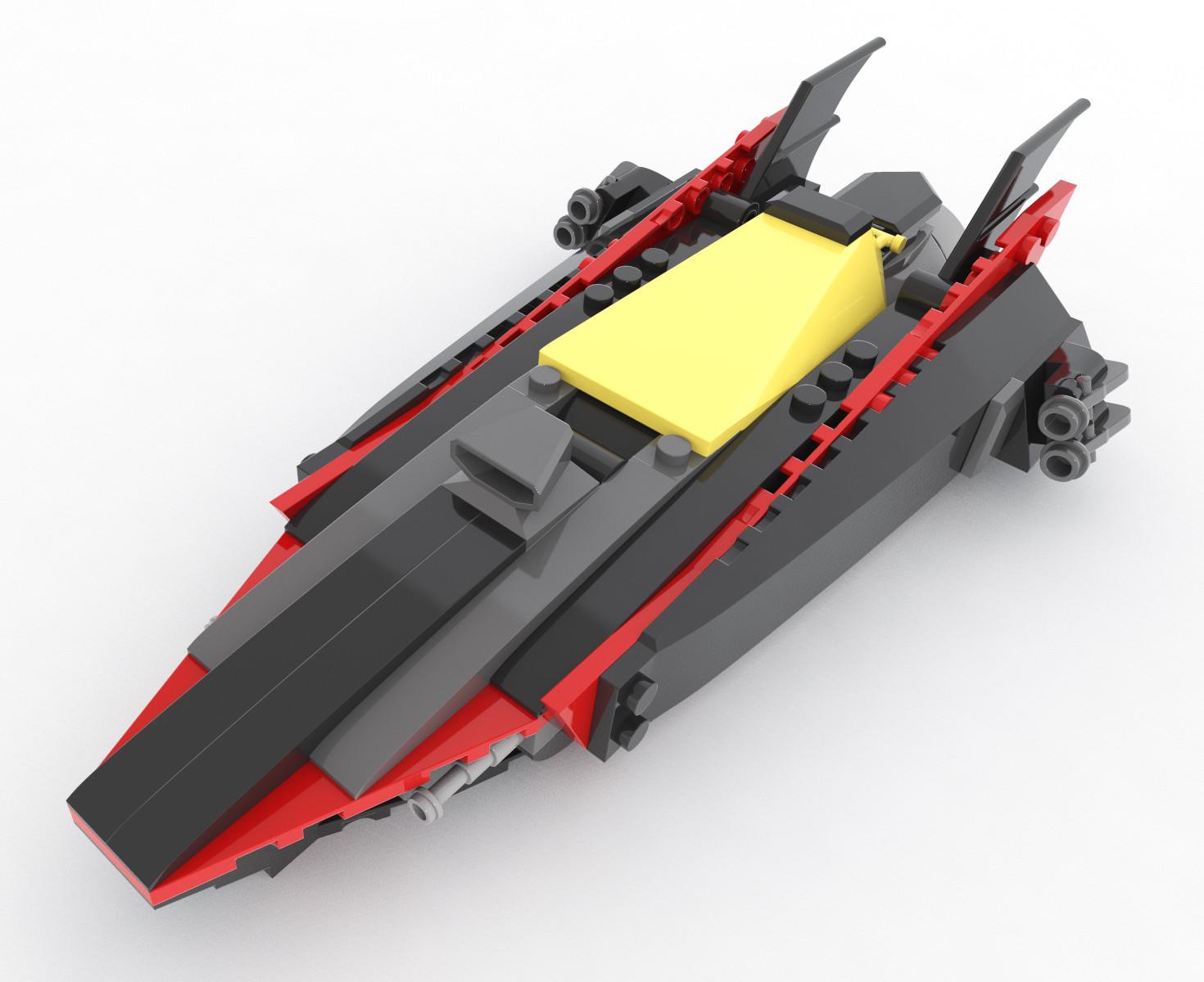 """Lego Batman's Speedboat """"Riptide"""""""