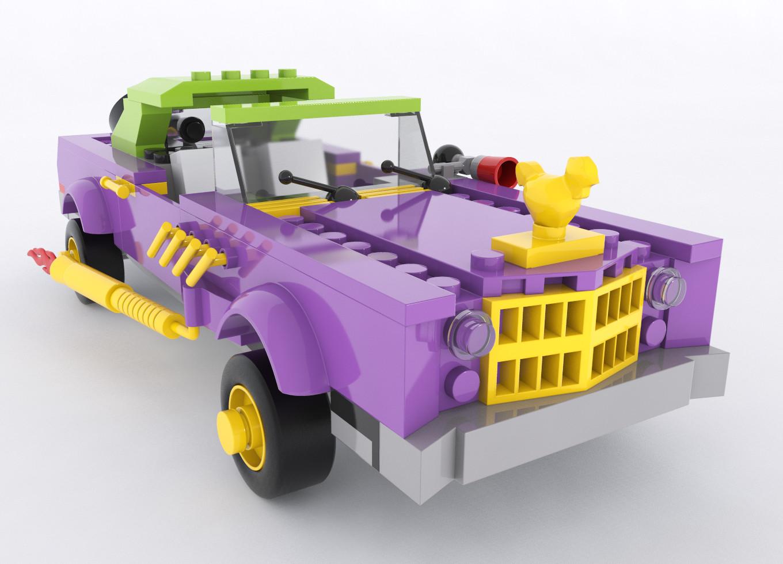 Lego Joker's Cabriolet
