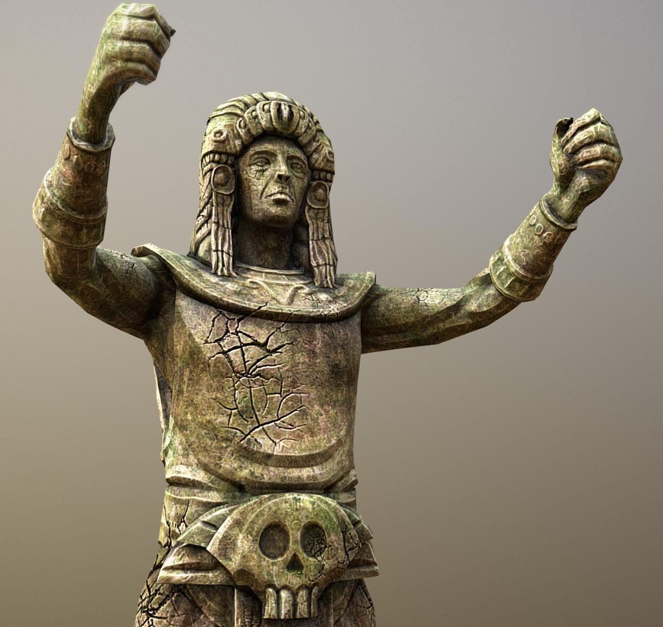 Statue   Cradle of Life