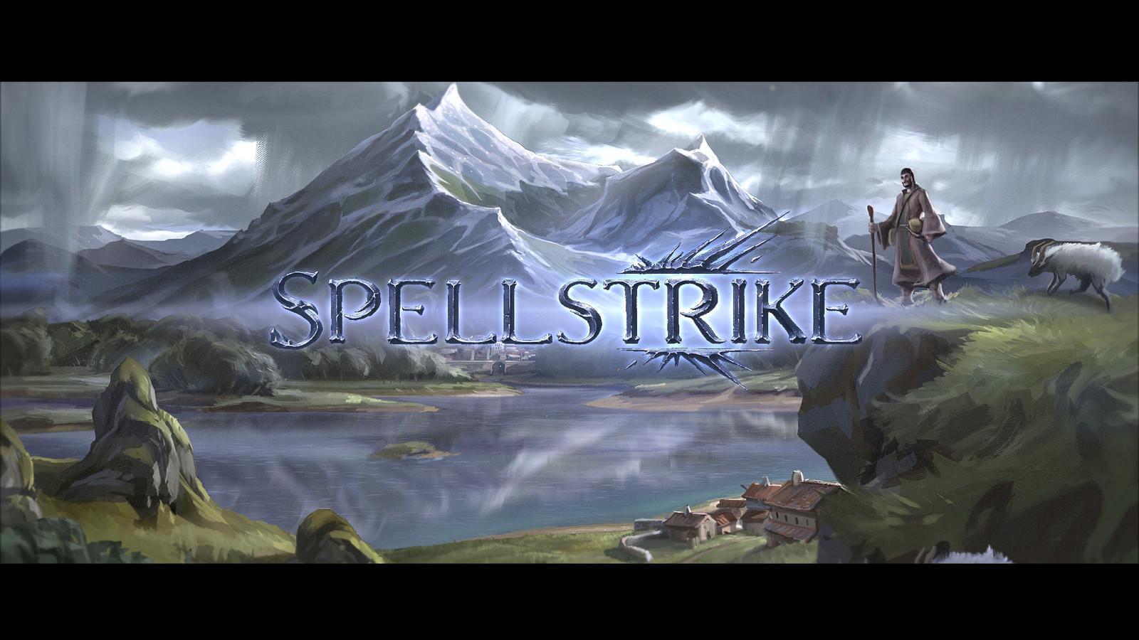 Spellstrike Story Teaser - Illustrations / motion deisgn / storyboard.