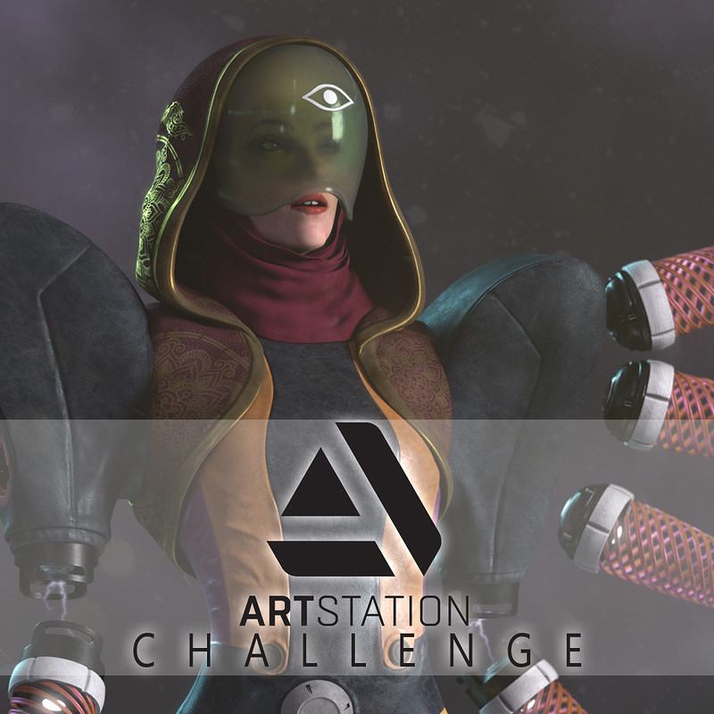 Kali : Artstation Challenge (Beyond Human)