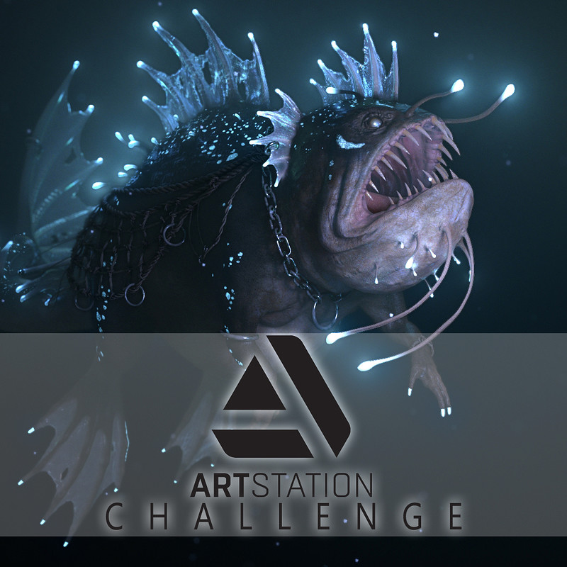 Hako : Artstation Challenge (Beneath the Waves)