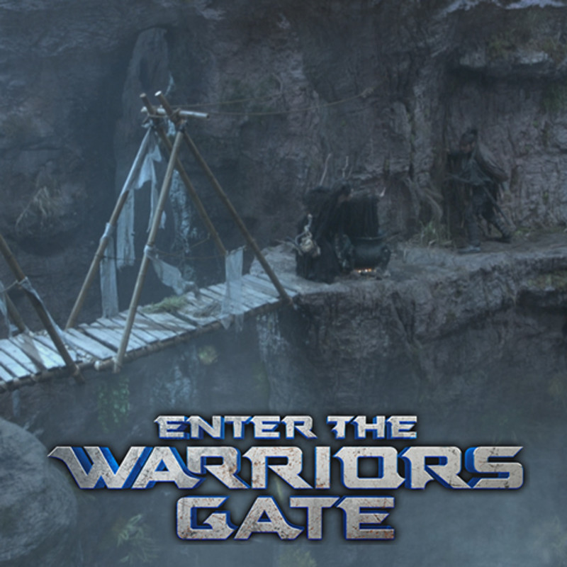 Cliff Set Extension Model : Enter the Warriors Gate