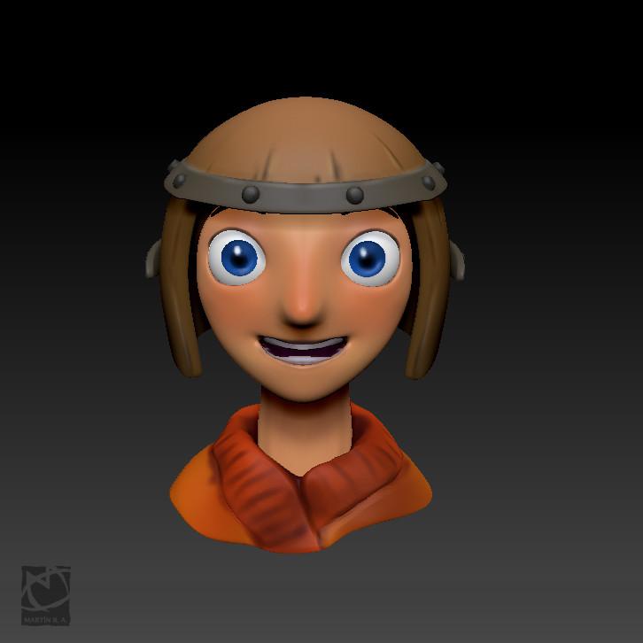 Character 3D practice