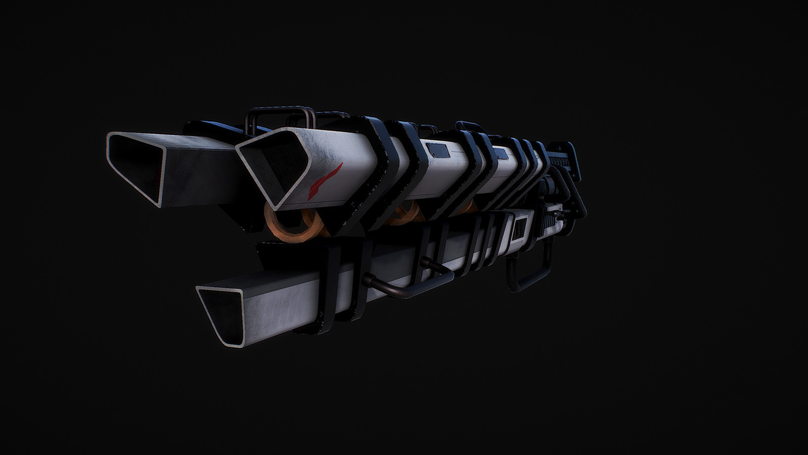 Futurastic Laser Gun