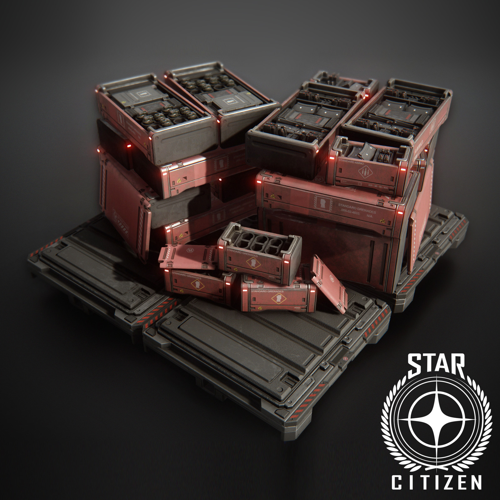 Star Citizen Ammo Crates