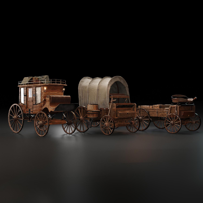 Wild West - Stagecoaches