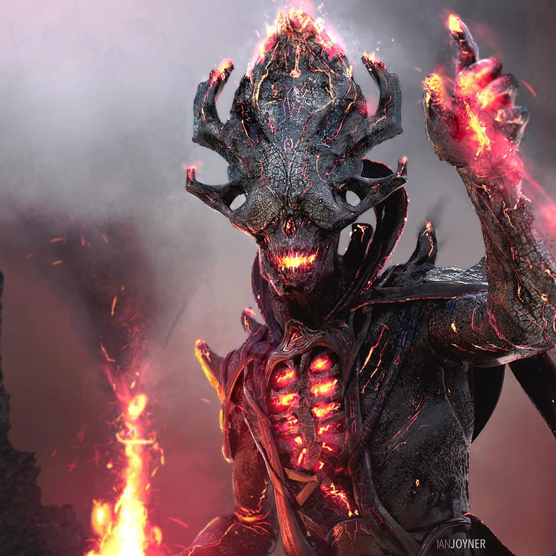 Thor Ragnarok - Surtur Priest
