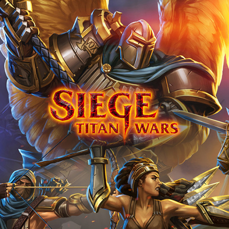 Siege Titan Wars / Characters illustrations - Cards - Splashscreen
