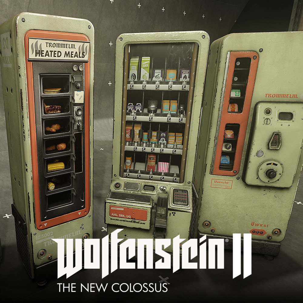 Wolfenstein 2: Vending Machine