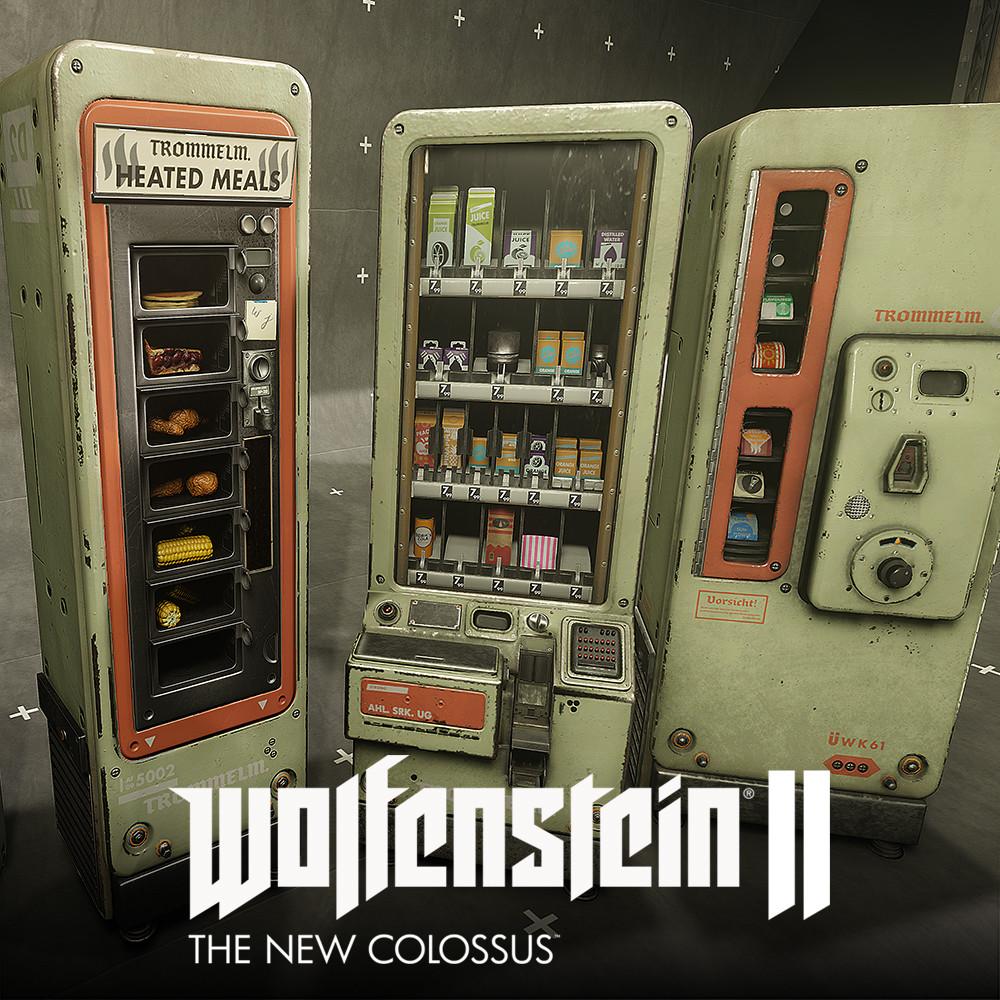 Wolfenstein 2: Vending Machine
