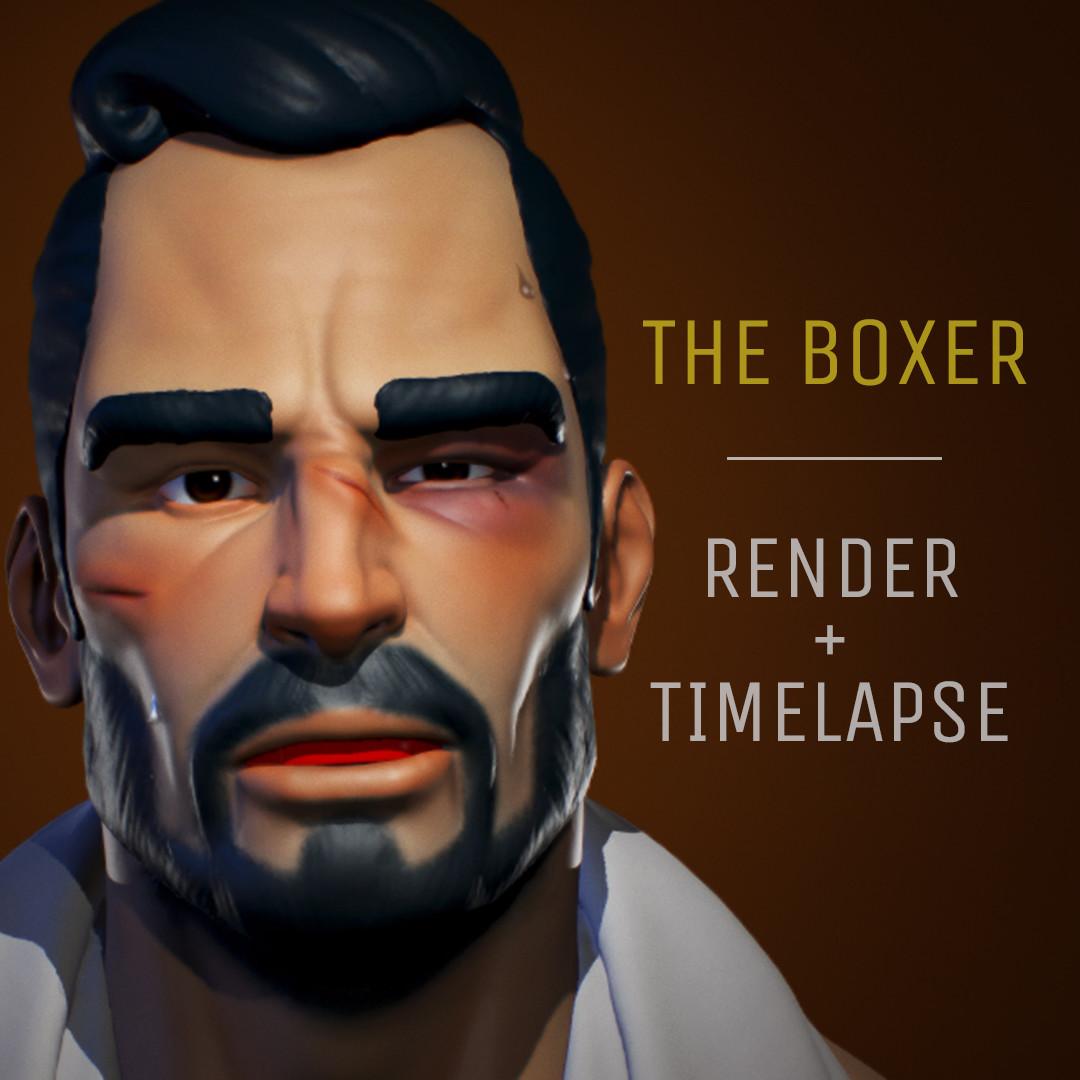 The Boxer - Render + Timelapse