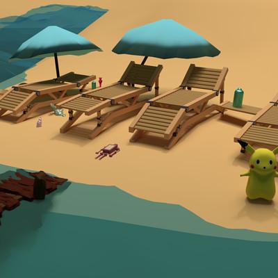 Merhaba yeryuzu insanlari deniz kum gunes 07