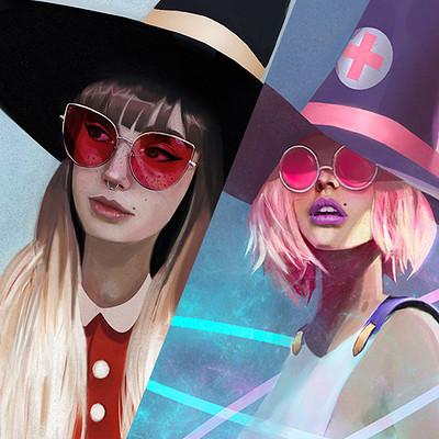 Chloe veillard cover witch