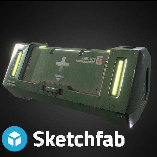 Sci-Fi Med Crate