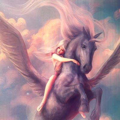 Lana paluhina horse3