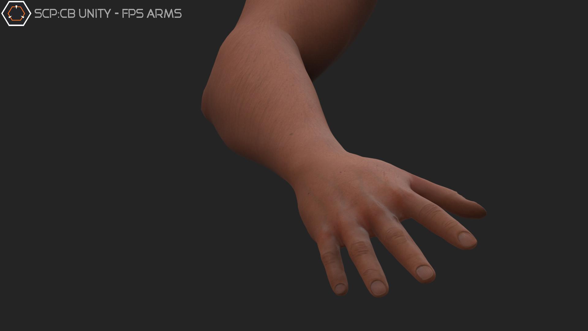 ArtStation - SCP:CB - Unity Fps Arms, Aidan Eldred