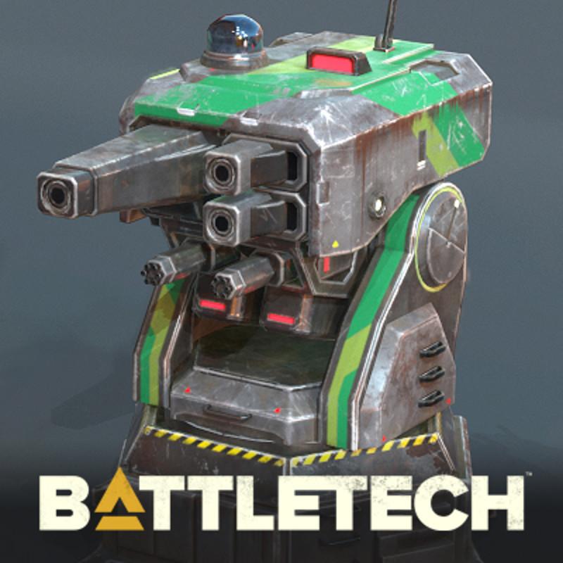 BATTLETECH - Standard Turret