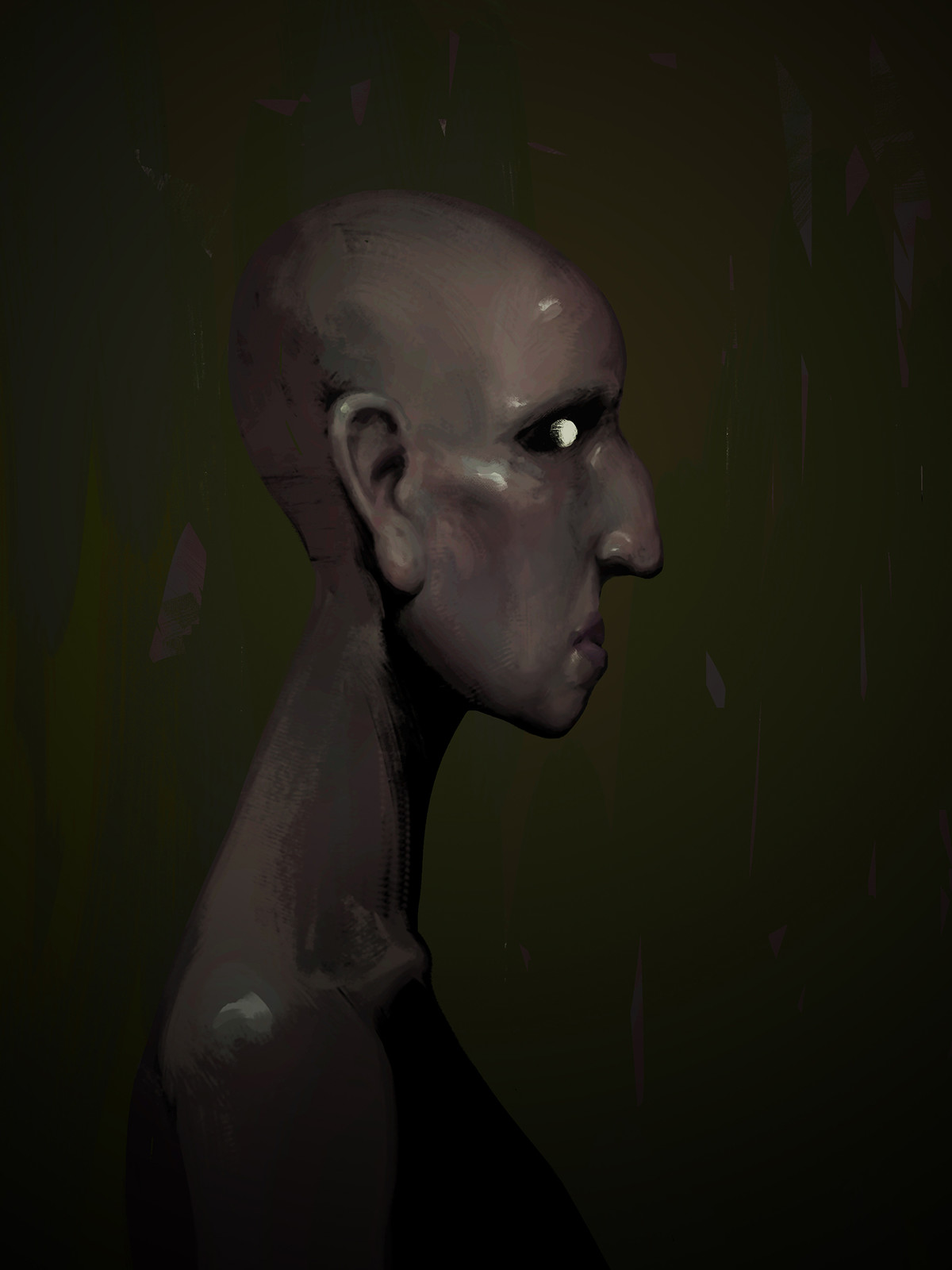 Portrait of a Humanoid