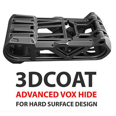 Anton tenitsky 3d coat advance vox hide for hard surface design square